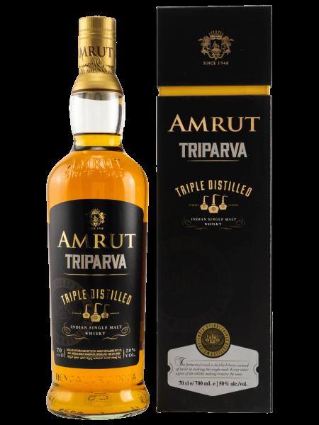 Triparva - Triple Distilled - Indian Single Malt Whisky
