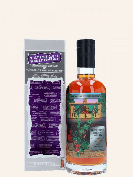 7 Jahre - Batch No. 1 - That Boutique-Y Whisky Company - Single Malt German Whisky