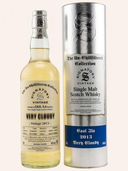 7 Jahre - Vintage 2013 - Signatory Vintage - Very Cloudy - Single Malt Whisky