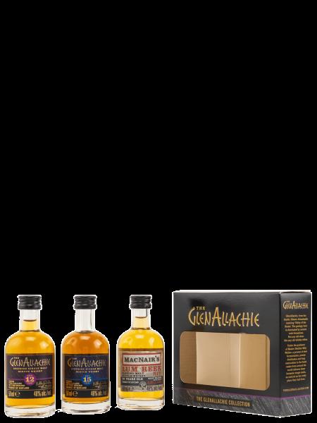 Miniatur Collection - 12 Jahre - 15 Jahre - Lum Reek 12 Jahre - Malt Whiskys