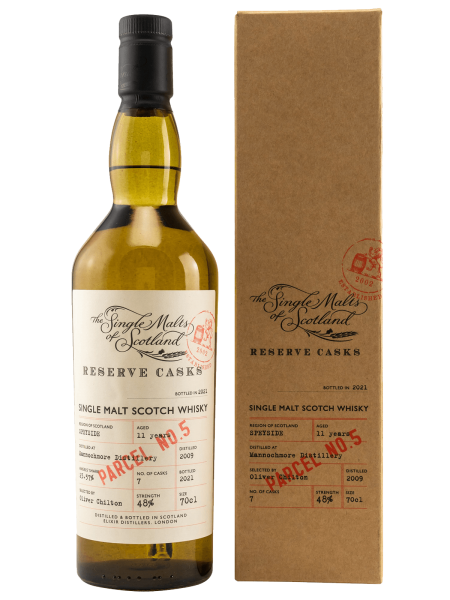 11 Jahre - 2009 - Reserve Cask - Parcel No. 5 - Single Malt Scotch Whisky