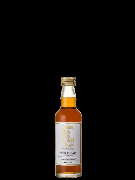 Miniatur - Sherry Oak - Taiwanesischer Single Malt Whisky