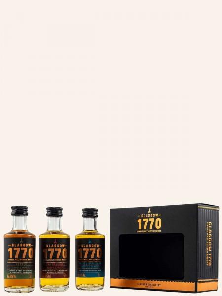 Glasgow 1770 - Mini Collection - Single Malt Scotch Whisky
