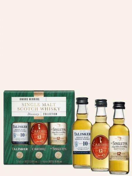 Miniatur Discovery Collection - Single Malt Scotch Whisky