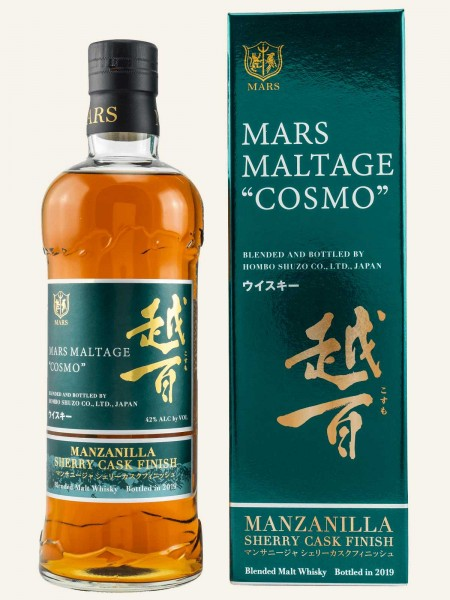 "Mars Maltage ""Cosmo"" - 2019 - Manzanilla Finish - Blended Malt Whisky"