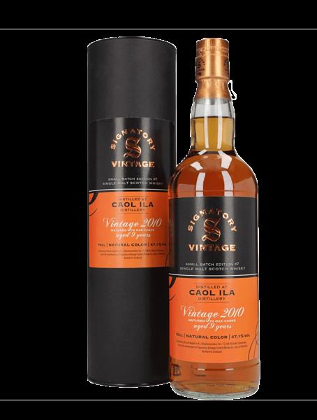 9 Jahre - 2010/2020 - Signatory Vintage - Small Batch Edition No. 7 - Single Malt Whisky
