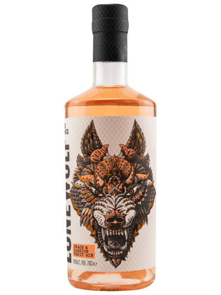 LoneWolf - Peach & Passion Fruit - Gin