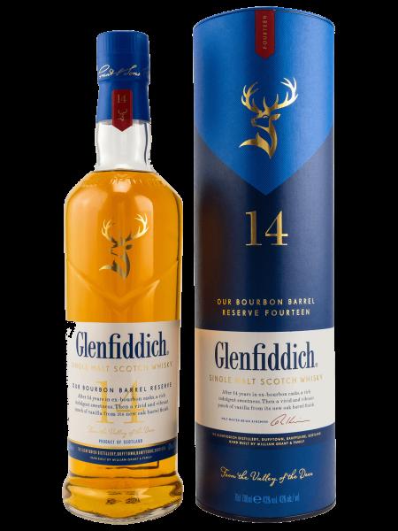 Bourbon Barrel Reserve - 14 Jahre - Single Malt Scotch Whisky