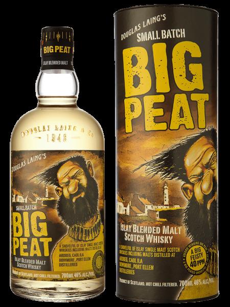 Big Peat Small Batch - Remarkable Regional Malts - Blended Malt Scotch Whisky