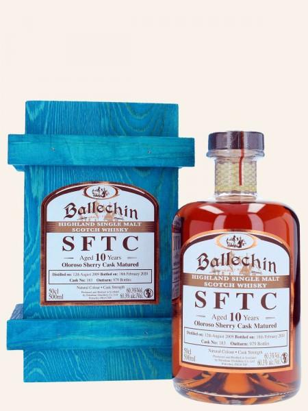 SFTC - 10 Jahre - 2009/2020 - Oloroso Sherry Cask Matured -Cask No. 183 - Singe Malt Whisky