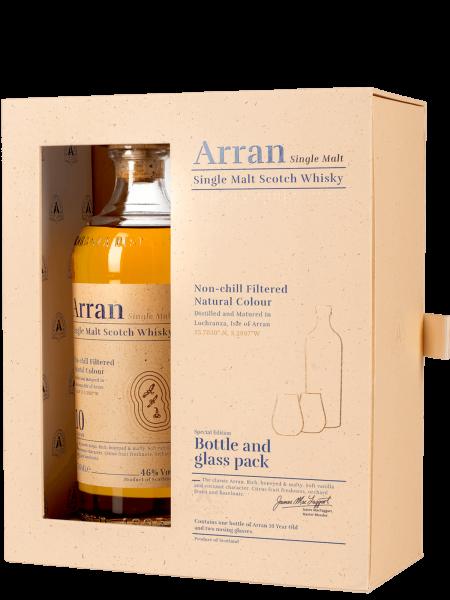 10 Jahre - Geschenkset mit 2 Gläsern - Single Malt Scotch Whisky