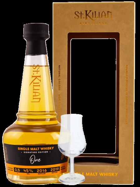 Signature Edition One - 2016/2019 - Single Malt Whisky + Tasting Glas