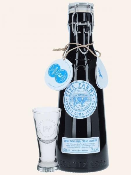 Single Batch - Irish Cream Liqueur + Shot Glas