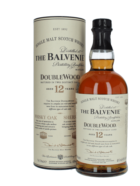 Double Wood - 12 Jahre - Matured in Two Distinct Cask - Single Malt Scotch Whisky