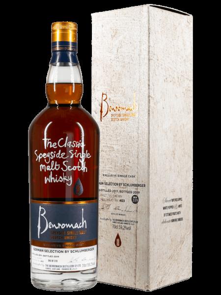 Schlumberger Edition No. 5 - 2011/2019 - Cask No. 403 - Single Malt Scotch Whisky
