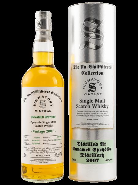Unnamed Speyside - 13 Jahre - 2007/2020 - DRU17/A190#13 - Single Malt Scotch Whisky