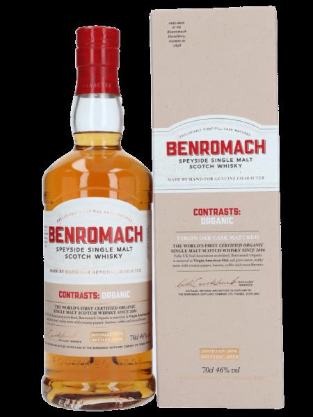 Contrasts: Organic - 2012/2020 - GB-ORG-05 - Bio Speyside Single Malt Scotch Whisky