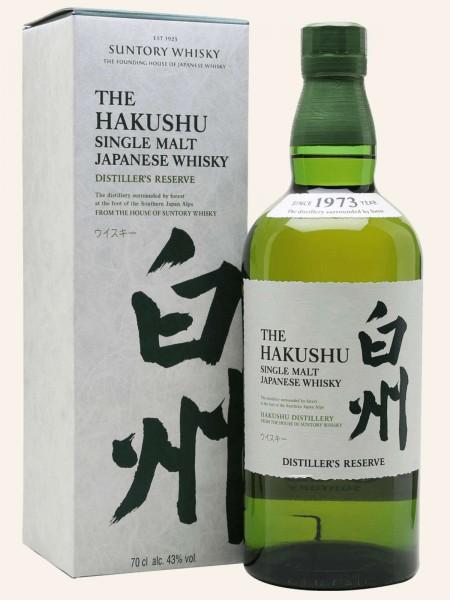 The Hakushu - Distiller's Reserve - Single Malt Japanese Whisky