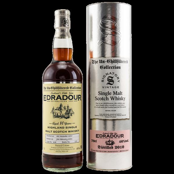2010/2021 - 10 Jahre - Sherry Cask - Cask No. 408 - Signatory Vintage - Single Malt Whisky