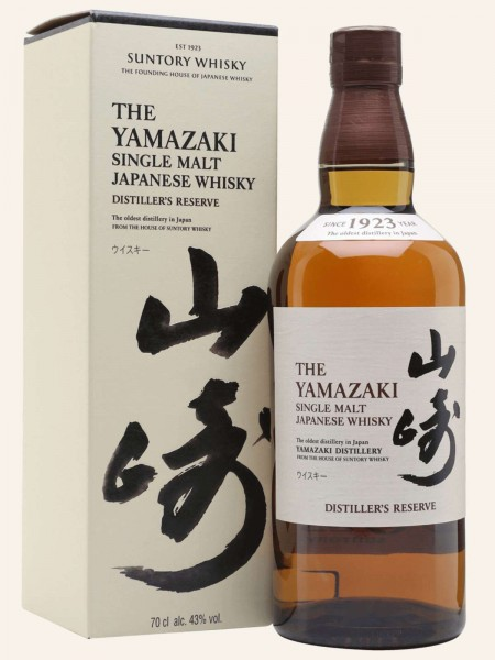 Yamazaki - Distiller's Reserve - Single Malt Japanese Whisky