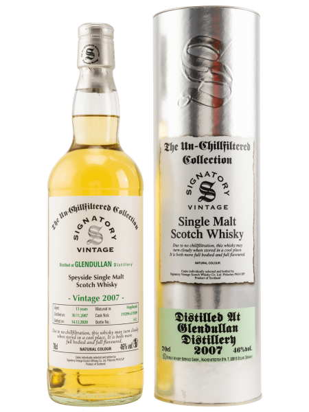 13 Jahre - 2007 - Signatory Vintage - Un-Chillfiltered - Single Malt Scotch Whisky