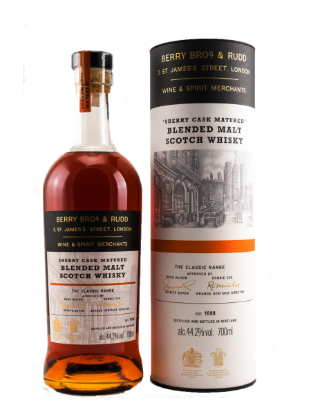 Sherry Cask Matured - Blended Malt Scotch Whisky