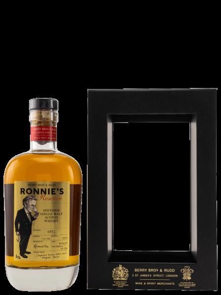Ronnie's Reserve - 1975 - Cask No. 10619 - Single Malt Scotch Whisky