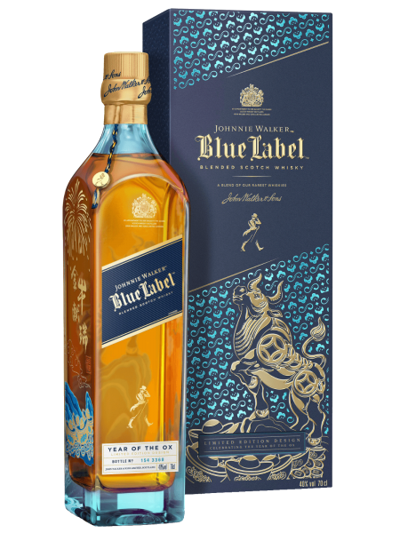 Blue Label - Year of the Ox - Limited Edition - Blended Scotch Whisky