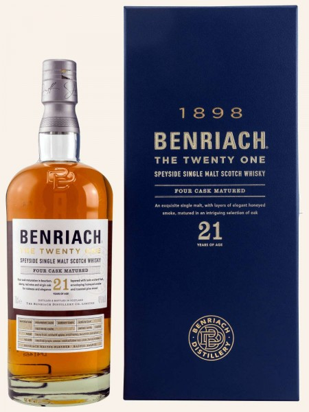 21 Jahre - The Twenty One - Four Cask Matured - Single Malt Whisky