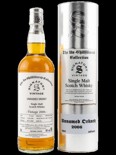 Unnamed Orkney - 14 Jahre - 2006/2020 - DRU 17/A65 #10 - Single Malt Scotch Whisky