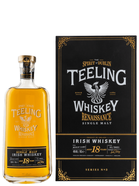 Renaissance Series No. 3 - 18 Jahre - 2021 - Irish Whiskey