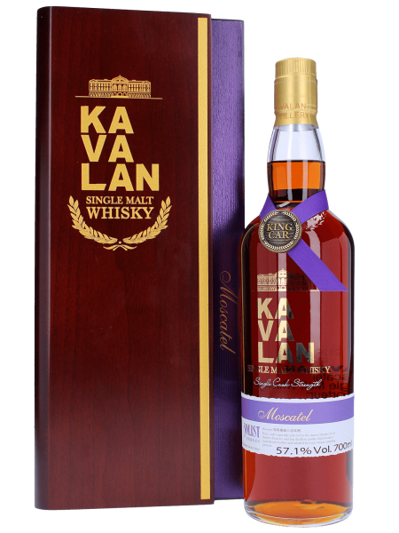 Solist Moscatel - Kavalan Solist - MO110216015A - Cask Strength - Taiwanesischer Single Malt Whisky