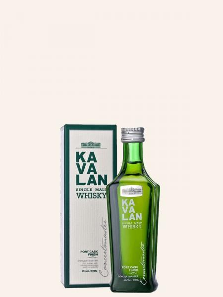 Miniatur - Concertmaster Port Cask Finish - Taiwanesischer Single Malt Whisky