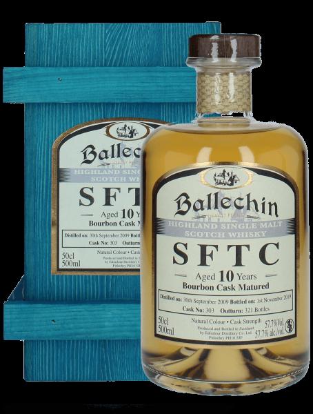 SFTC - 10 Jahre - 2009/2019 - Bourbon Cask Matured - Cask No. 303 - Single Malt Whisky
