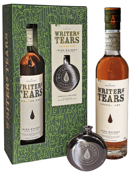 Copper Pot - Irish Whiskey - Geschenkset inkl. Flachmann