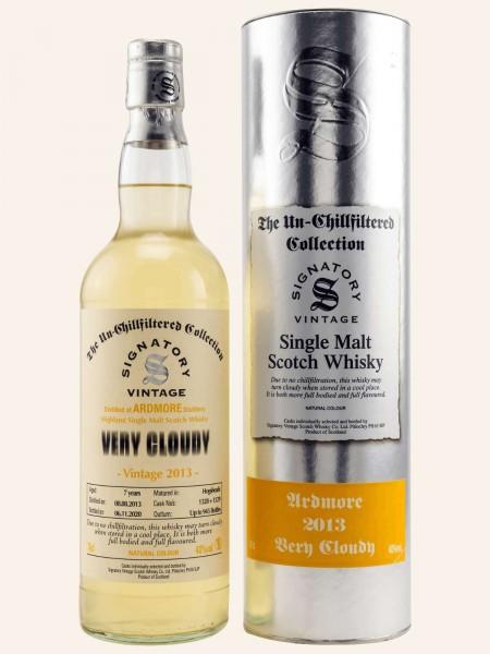 7 Jahre - Vintage 2013 - Signatory Vintage - Very Cloudy - Cask 1328+1329 - Single Malt Whisky