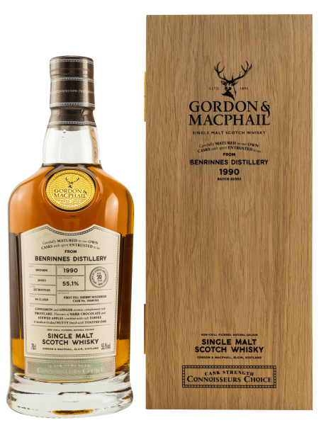 30 Jahre - Gordon & MacPhail - Connoisseurs Choice - Single Malt Scotch Whisky