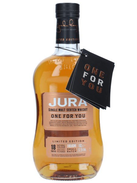 One for You - 18 Jahre - Limited Edition - Singe Malt Scotch Whisky