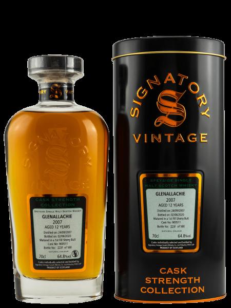 12 Jahre - 2007/2020 - Signatory Vintage - Cask No. 900511 - Speyside Single Malt Scotch Whisky
