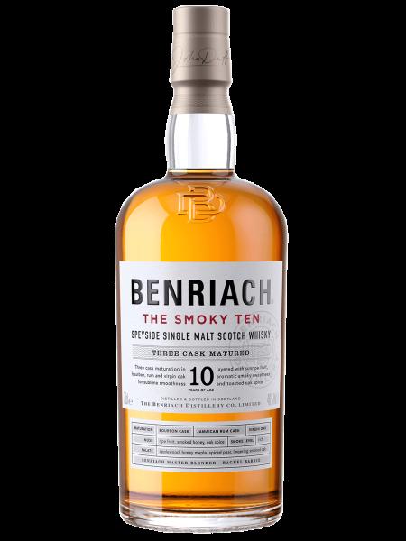 The Smoky Ten - 10 Jahre - Single Malt Scotch Whisky