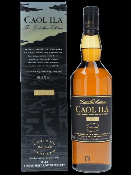 Distillers Edition 2008 / 2020 - C-si: 7-480 - Single Malt Scotch Whisky