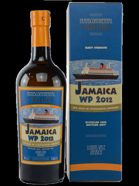 5 Jahre - Jamaica Worthy Park 2012 - Navy Strength Rum