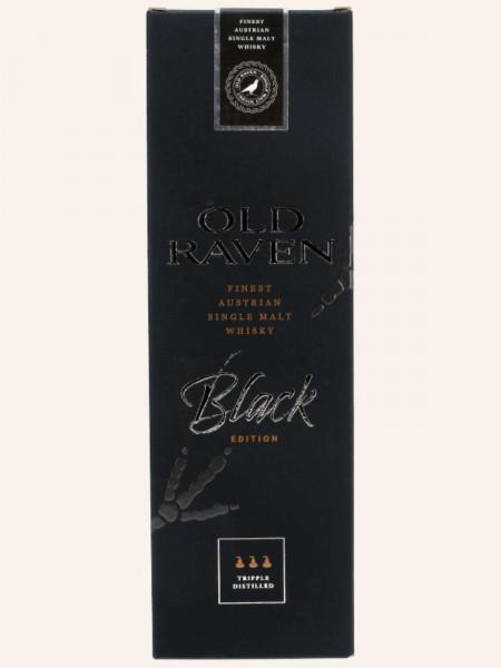 Old Raven Black, versiegelte Umverpackung
