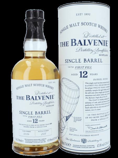 Single Barrel - 12 Jahre - Single Malt Scotch Whisky