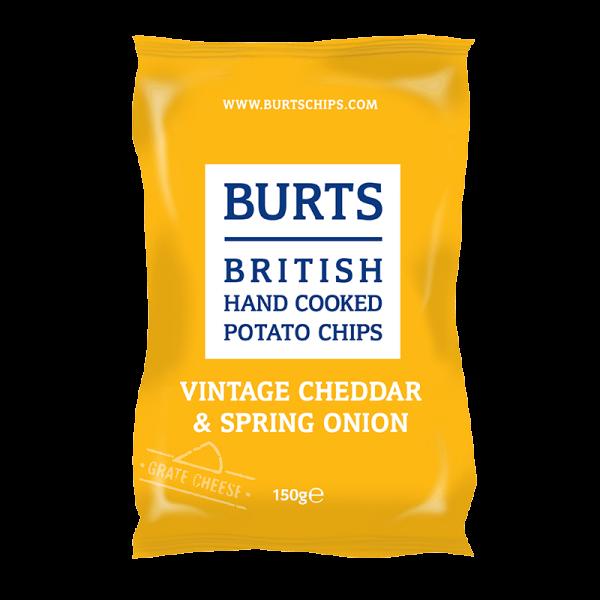 British Potato Chips Vintage Cheddar & Spring Onion