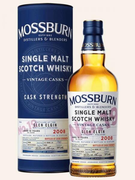 Glen Elgin - 2008 - 10 Jahre - Vintage Casks - No. 19 - Single Malt Scotch Whisky