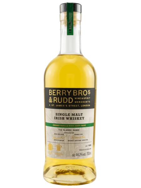 The Classic Range - Creamy Vanilla With Zesty Fruit - Single Malt Irish Whiskey