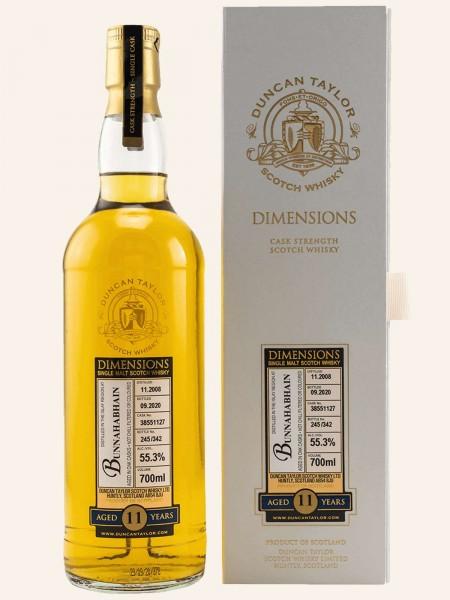 11 Jahre - 2008/2020 - Dimensions - Duncan Taylor - Single Cask No. 38551127 - Single Malt Whisky