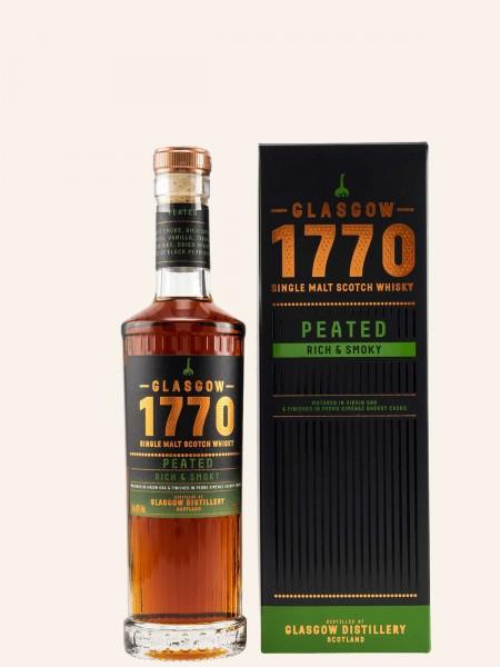 Glasgow 1770 - Peated Rich & Smoky - Single Malt Scotch Whisky