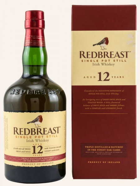 12 Jahre - Single Pot Still Irish Whiskey
